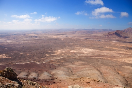Northern Fuerteventura, view south from Montana Roja (Red mountain) photo