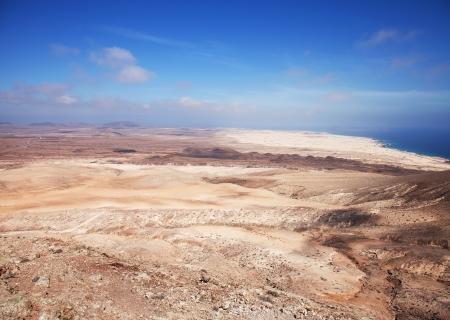 Northern Fuerteventura, view north from Montana Roja (Red mountain) photo