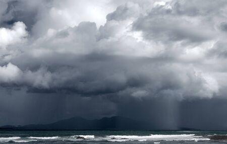 northern spain: rain between Corralejo and Lanzarote