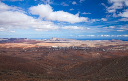 central Fuerteventura, view from El Pinar de Betancuria Stock Photo - 15865215