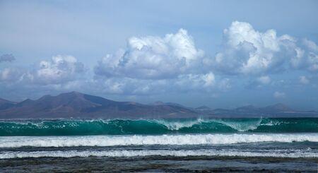 swell: Sea swell btween Fuerteventura and Lanzarote