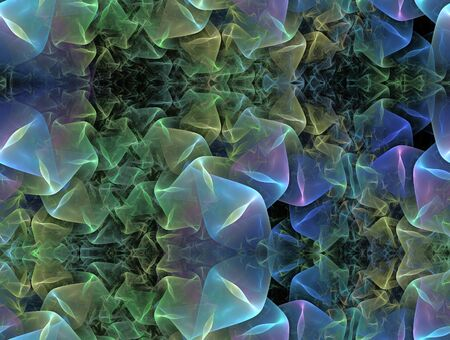 repeatable: repeatable folded fractal background