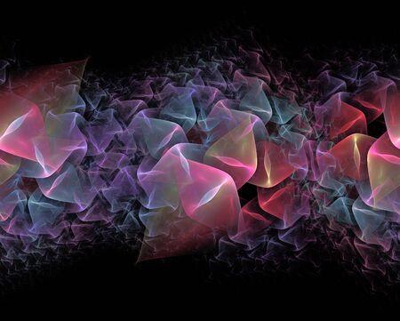 repeatable: repeatable folded fractal border