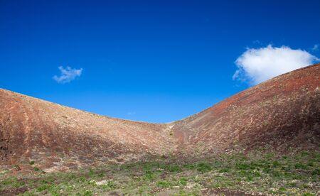 hondo: Northern Fuerteventura, saddle between Montana Colorada and Calderon Hondo