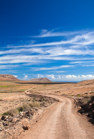 Inland Fuerteventura, Canary Islands Stock Photo - 16878301