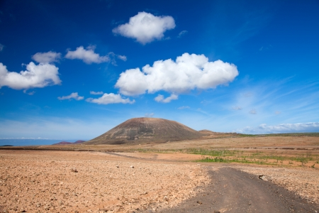 Inland Fuerteventura, Canary Islands Stock Photo - 16878306