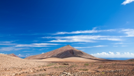 Inland Fuerteventura, Canary Islands, Montana de Caima Stock Photo - 16881461