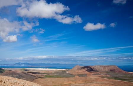 Inland Fuerteventura, view from Montana de Ecanfraga at Villaverde Stock Photo - 16891993