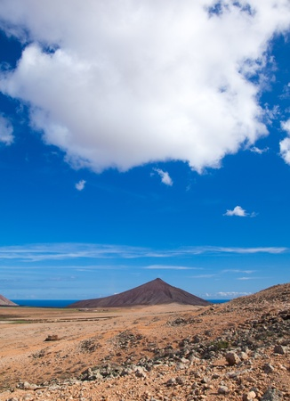 Inland Fuerteventura, Canary Islands, Montana de Caima photo