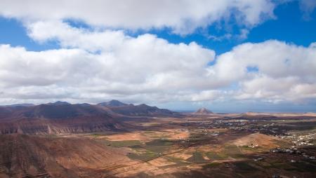 Inland Fuerteventura, view west from Montana de Ecanfraga photo