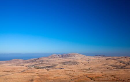 Fuerteventura, view north from Tindaya mountain
