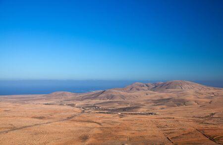 aborigin: Fuerteventura, view north from Tindaya mountain