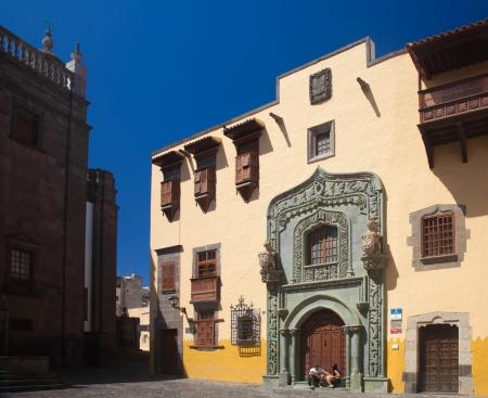 casa colon: Las Plamas de Gran Canaria, old town (casco historico, casco viejo), Museum  Editorial