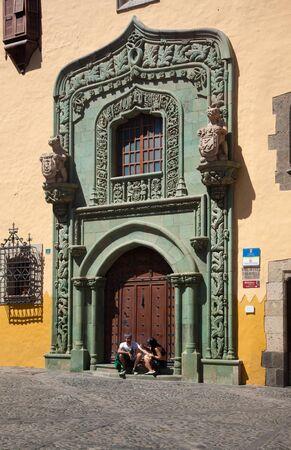 viejo: Las Plamas de Gran Canaria, old town (casco historico, casco viejo), Museum  Editorial
