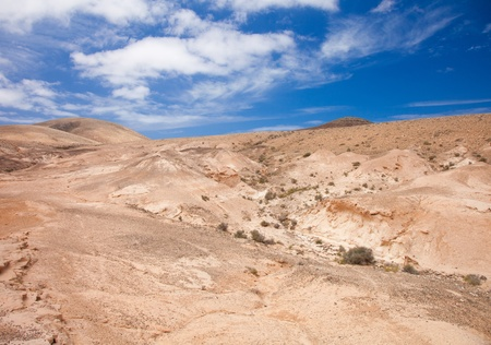 Inland Northern Fuerteventura, barranco - dry river bed - close to  Lajares photo
