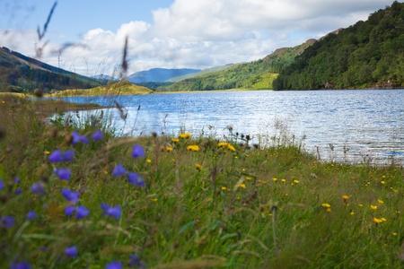 scottish landscape with lake Stock Photo - 19534734