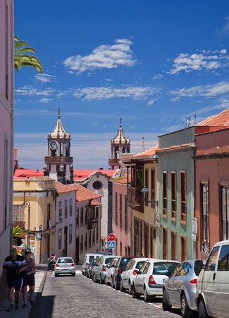 historica: Historical town of La Orotava, North of Tenerife