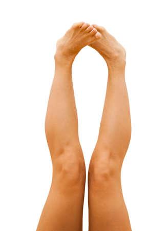 sporty female legs Stock Photo - 19723046