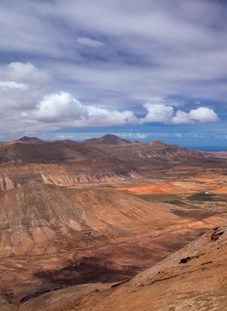 Inland Northern Fuerteventura, view west from Montana de Ecanfraga photo