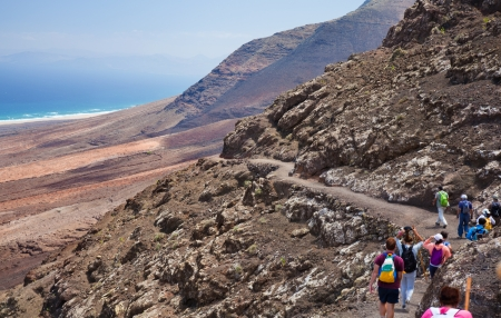 Southern Fuerteventura, hiking at Jandia