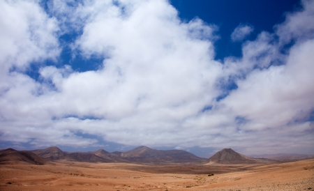 Northern Fuerteventura, sacred mountain Tindaya photo