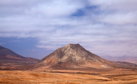 Northern Fuerteventura, scared mountain Tindaya photo