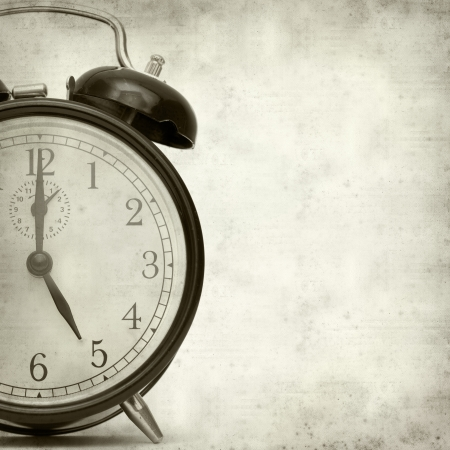 old fashioned alarm clock Stock Photo - 22480536