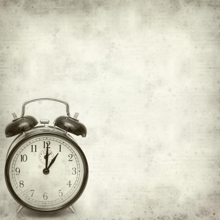old fashioned:  old fashioned alarm clock