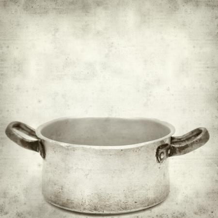 old aliminium pan photo