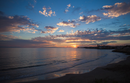 Sitges sunset photo