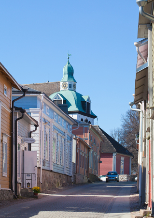 Porvoo old town editorial