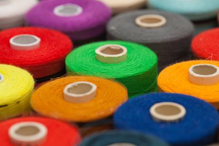 regular: sewing thread regular background