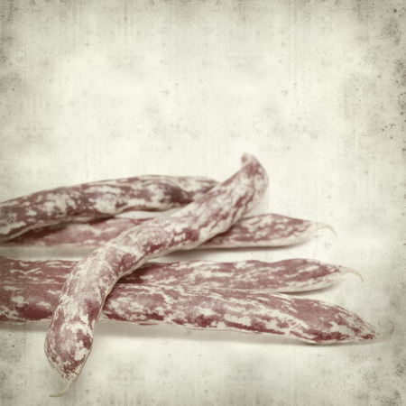 textured old paper background with beans Stock Photo - 29547407
