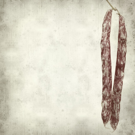 textured old paper background with beans photo