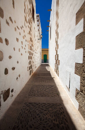 canarian: Aguimes, Gran Canaria, best example of traditional Canarian hill own