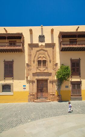 casa colon: La Vegueta, old town part in Las Palmas de Gran Canaria, Casa de Colon