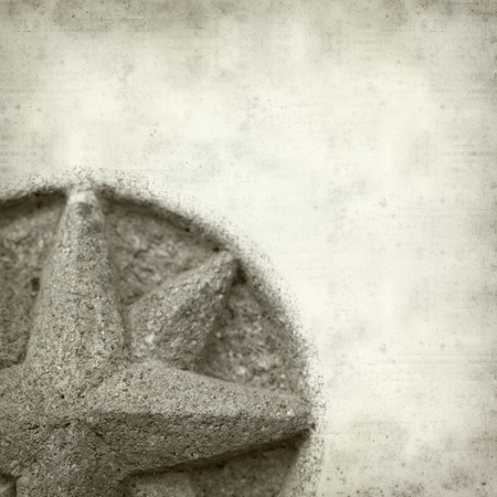 compas: textured old paper background with compass stone relief