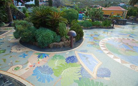 La Palma, Plaza la Glorieta in Las Manchas village
