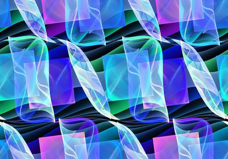 repeatable: seamless repeatable fractal pattern