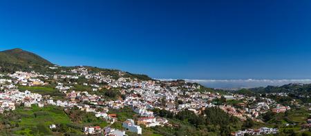 Inland Gran Canaria, Historical town Teror, panorama photo