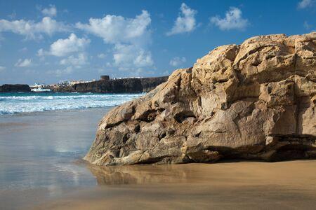 Northern Fuerteventura, Playa del Castillo beach close to El Cotillo photo
