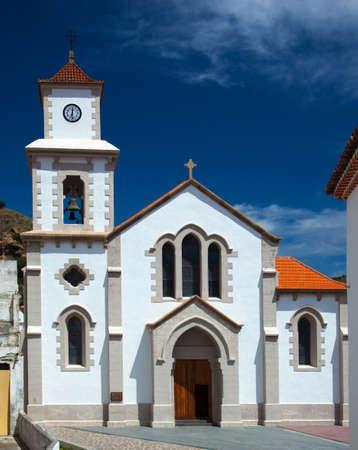 vallehermoso: La Gomera, Vallehermoso village church