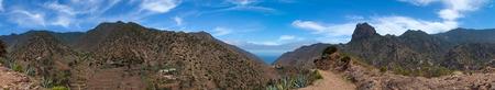 vallehermoso: La Gomera, Vallehermoso, hiking path