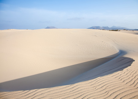 corralejo: Northern Fuerteventura, Canary Islands, natuure reserve Dunes of Corralejo