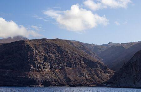 steep cliffs: La Gomera, Canary islands, steep cliffs along west coast