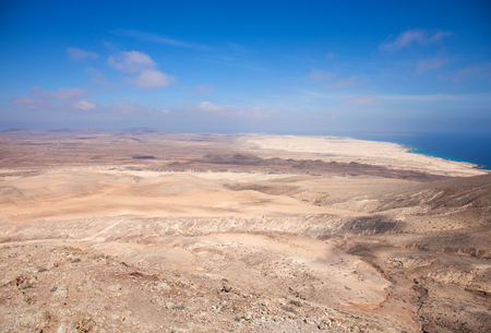 nombre: Fuerteventura, view north from Montana Roja over Dunes of Corralejo