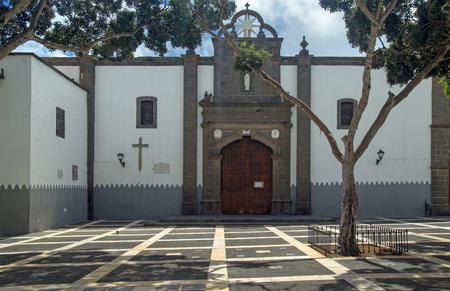 santo domingo: Parroquia de Santo Domingo de Guzman, Las Palmas Stock Photo