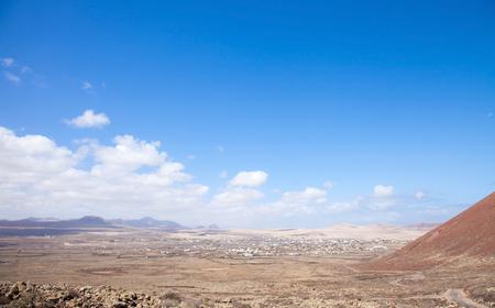 hondo: Fuerteventura, Canary Islands, path from Lajares to Calderon Hondo