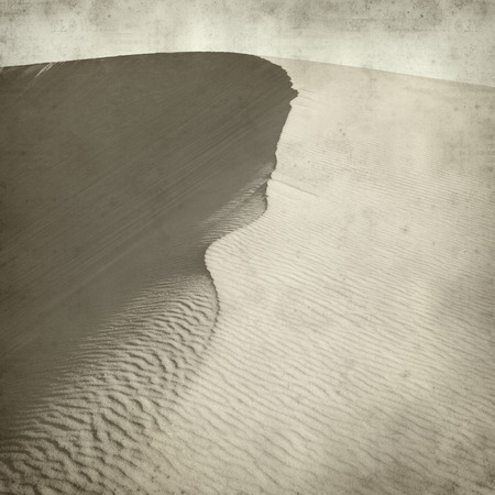 textured paper: textured old paper background with barchan dunes