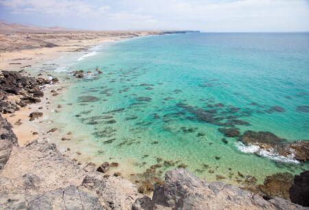 claen: Fuerteventura, Canary Islands, Playa del Castillo next to El Cotillo village